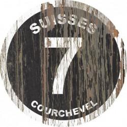 Panneau Bois Vintage Suisses