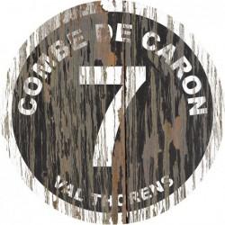 Panneau Bois Vintage Combe de Caron