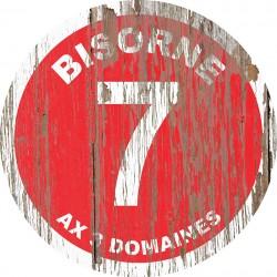 Panneau Bois Vintage Bisorne