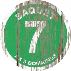 Panneau Bois Vintage Saquet