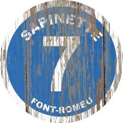 Panneau Bois Vintage Sapinette