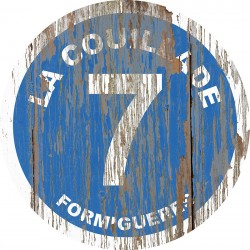 Panneau Bois Vintage La Couillade