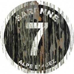Panneau vintage bois Sarenne