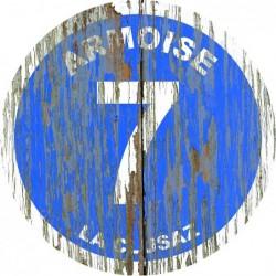 Panneau vintage bois Armoise