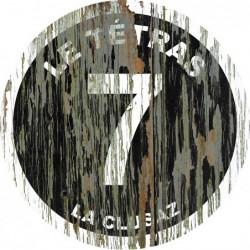 Panneau vintage bois Le tetras