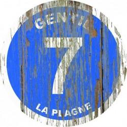 Panneau vintage bois Gentil