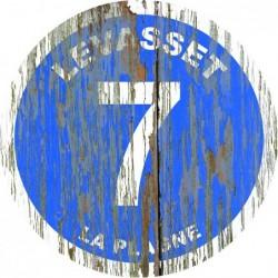 Panneau vintage bois Levasset