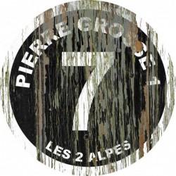 Panneau vintage bois Pierre grosse 1