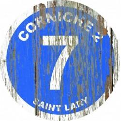 Panneau vintage bois Corniche2