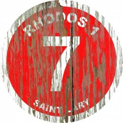 Panneau vintage bois Rhodos1