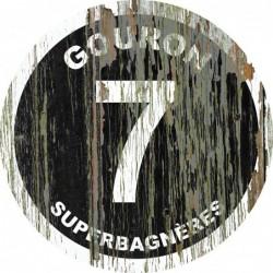 Panneau vintage bois Gouron