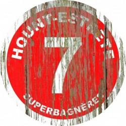 Panneau vintage bois Hount estrete