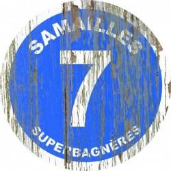 Panneau vintage bois Samailles
