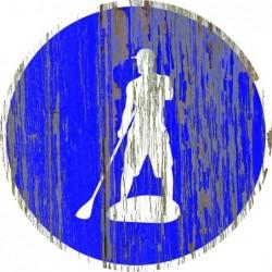 Panneau vintage Paddle autorize