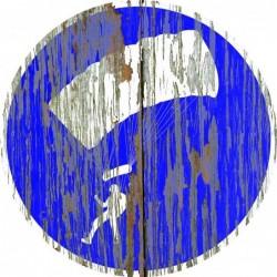 Panneau vintage Parapente autorise