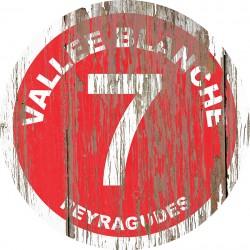 Panneau piste Vallée blanche