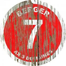 Panneau Vintage Ax 3 domaines - Berger