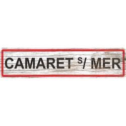 Panneau bois entrée de ville Camaret-sur-Mer