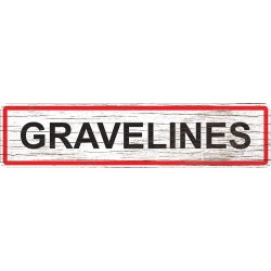 Panneau bois entrée de ville Gravelines