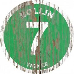 Panneau Bois Vintage Bollin