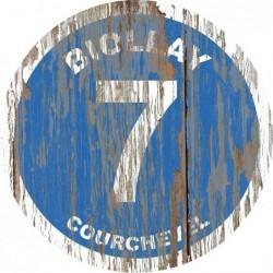 Panneau Bois Vintage Biollay