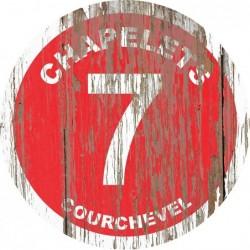 Panneau Bois Vintage Chapelets