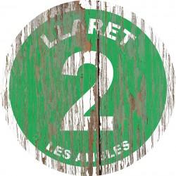Panneau Bois Vintage Llaret
