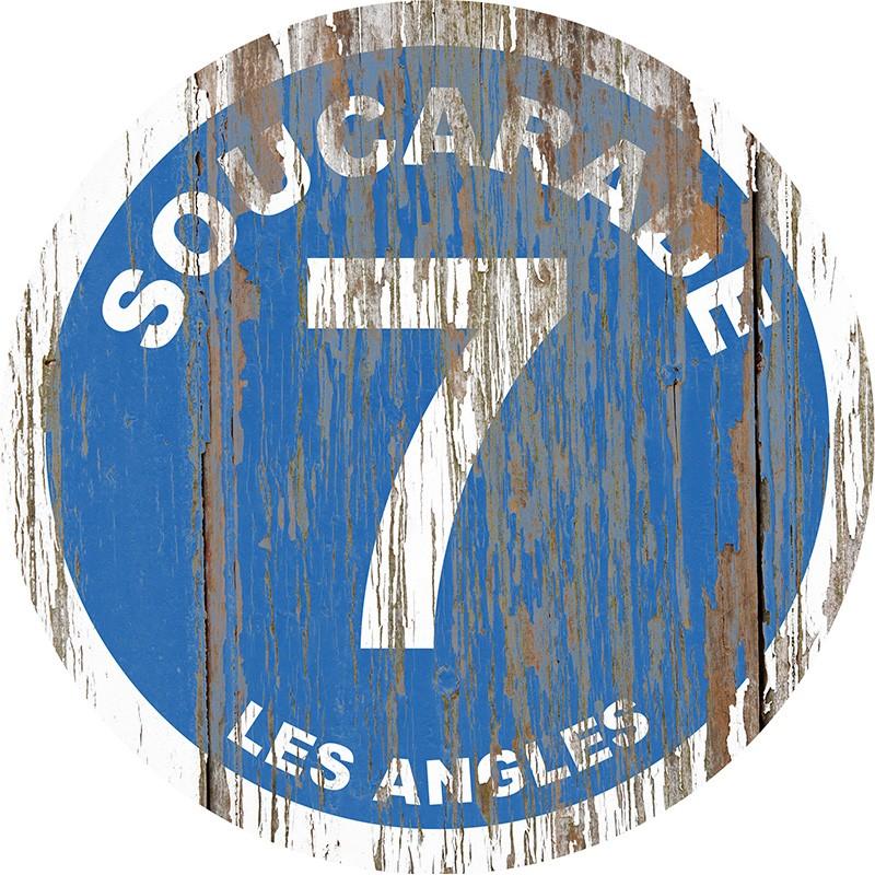 Panneau Bois Vintage Soucarade