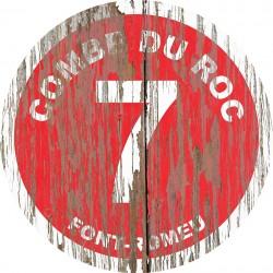 Panneau Bois Vintage Combe du Roc