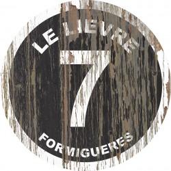 Panneau Bois Vintage Le Lièvre