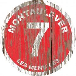 Panneau Bois Vintage Montaulever