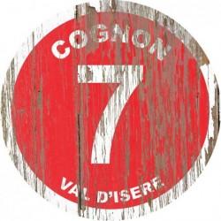 Panneau vintage bois Cognon