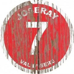 Panneau vintage bois Joseray