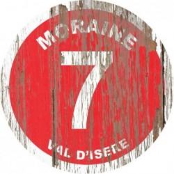 Panneau vintage bois Moraine
