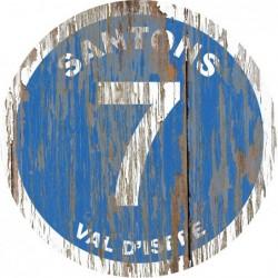 Panneau vintage bois Santon