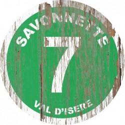 Panneau vintage bois Savonnette