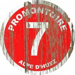 Panneau vintage bois Promontoire