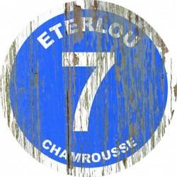Panneau vintage bois Eterlou
