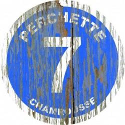 Panneau vintage bois Perchette