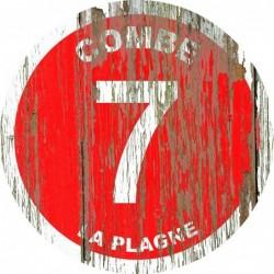 Panneau vintage bois Combe