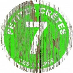 Panneau vintage bois Petites cretes