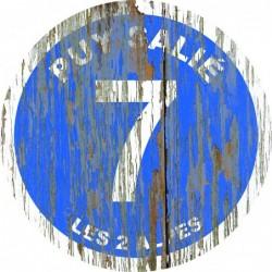 Panneau vintage bois Puy salié